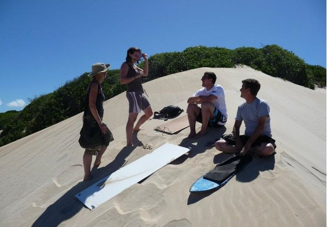 Sand Surfing J Bay